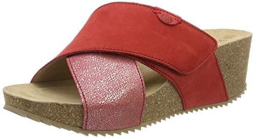 Josef Seibel Damen Meike 15 Pantoletten Rot (Rot 400), 39 EU