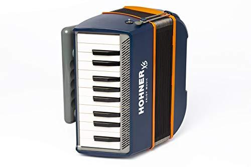 HOHNER ACORDEON XS AZUL/NARANJA acordeon precio características