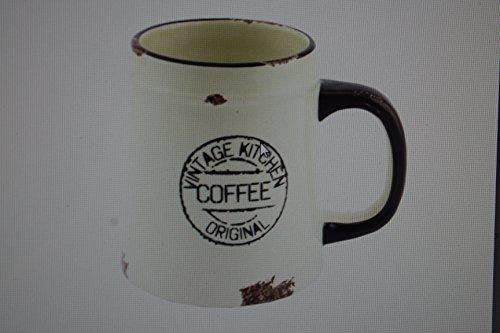Vintage taza de café de cerámica (en caja de regalo)