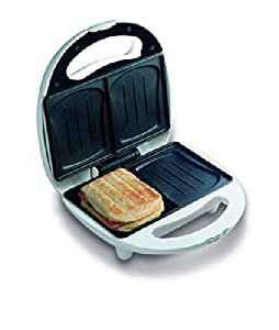 Domo DO9041C Sandwich Toaster, 700 W, White