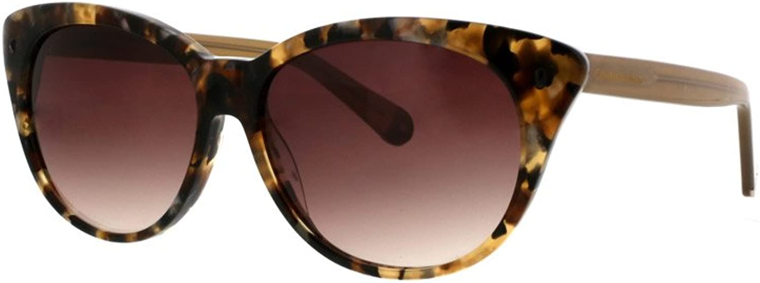 Catherine Malandrino Women's Small Cat With Stud Detail Sunglasses