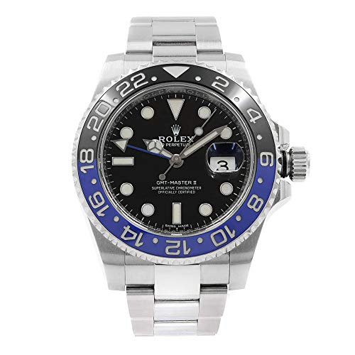 Rolex GMT Master II Automatic-self-Wind Male Watch 116710BLNR (Certified Pre-Owned)