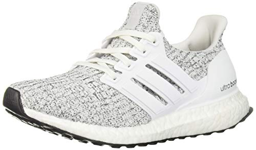 adidas Women's Ultraboost, white/white/neon-dyed, 10.5 M US