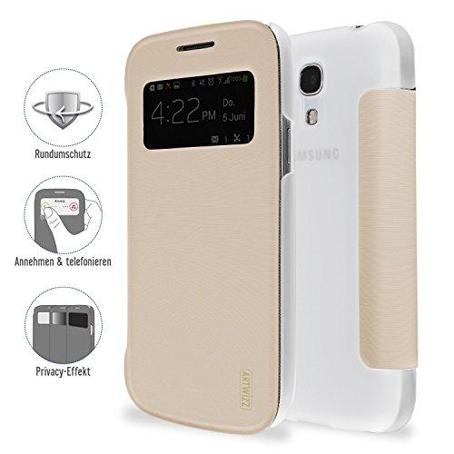 Artwizz 4371-1198 SmartJacket Preview Case für Samsung Galaxy S4 mini gold