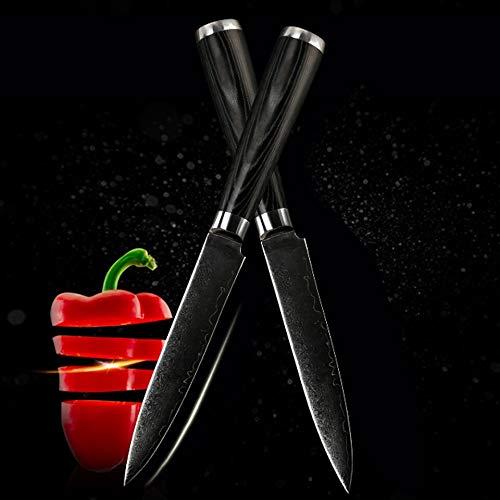 Best Quality Kitchen Knives Brand 5 inch damascus steel kitchen knife sharper chef knife kitchen knife