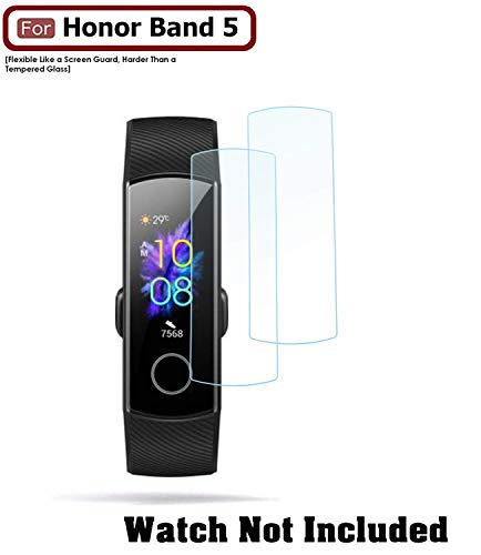 ACUTAS® Screen Scratch Guard Protector Film for Honor Band 5 [Buy 1 GET 1 FREE]