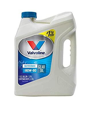 Valvoline SAE 75W-90 Full Synthetic Gear Oil