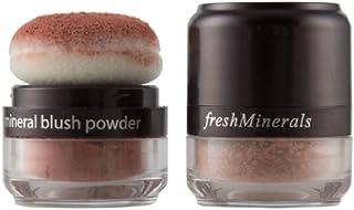 freshMinerals Mineral Blush Powder, Breathless, 3 Gram