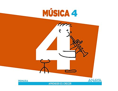 Música 4. (Aprender es crecer) - 9788467878547