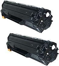 Prestige Cartridge CE278A 78A Pack de 2 Cartuchos de tóner láser compatibles para HP Laserjet Pro M1536 MFP, M1536DNF, P1560, P1566, P1600, P1606, P1606DN