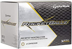 TaylorMade Rocketballz Golf Balls (Three Dozen)