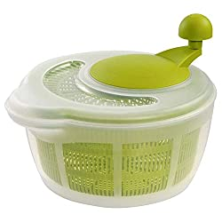 in budget affordable Westmark Germany Vegetable and salad rotator, with spout (green / transparent)