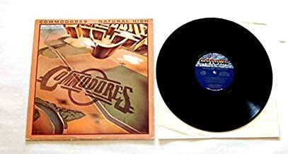 Commodores Natural High 2bb2bb22 - Motown Records 1978 - Used Vinyl LP Record - Near Mint Vinyl - Intact Shrink Wrap - Three Times A Lady - Such A Woman