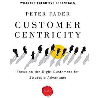Customer Centricity audiobook cover art