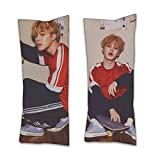 RichyRichy BTS Jimin Hug Body Pillow Peach Skin and Two-Way Tricot 40cm x 100cm (1, 2way)