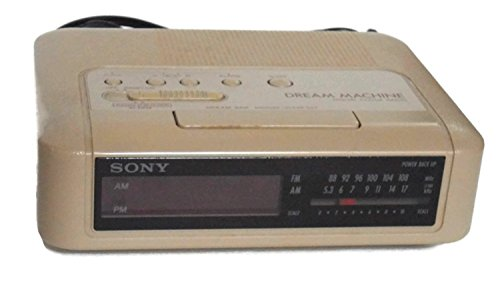 Sony Dream Machine Icf-c240 Digital Alarm Clock Radio Vintage 1980