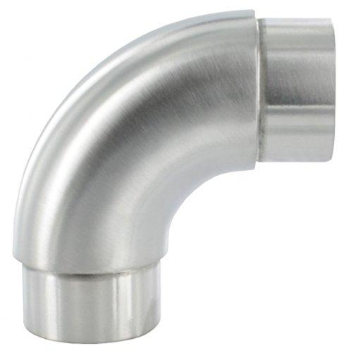 Rohrbogen 90° rund, für Rohr 42,4 x 2,0mm
