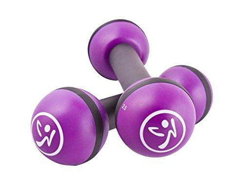 Zumba Toning Sticks Hanteln 1 kg | Schütteln und bewegen Sie Sich zu einem sexy und muskulösen Körper!
