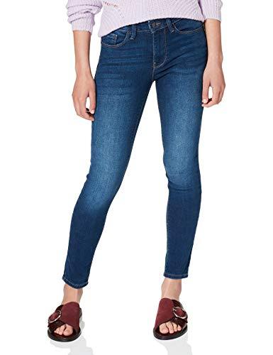 Springfield Jeans Air Stretch Push up Pantalones, Azul Medio, 42