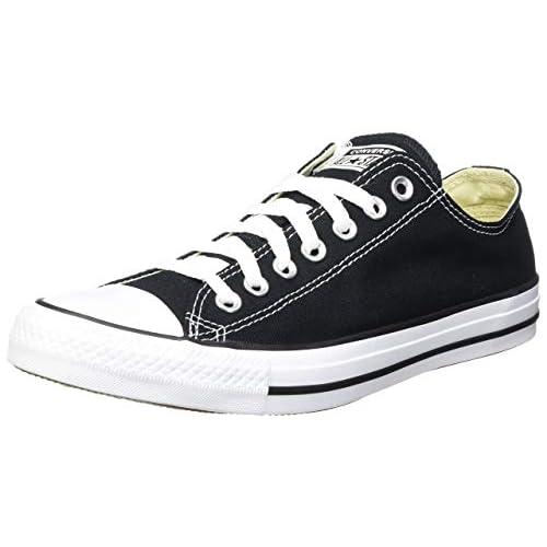 Converse Chuck Taylor All Star Core Ox, Sneaker Unisex, Nero, Taglia 40