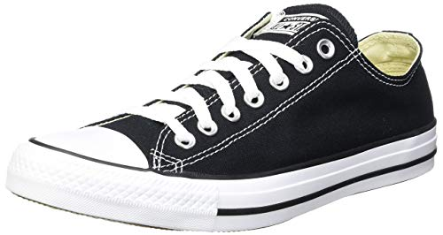 CONVERSE Unisex-Erwachsene Converse All Star OX Black M91 Sneakers, Schwarz (Black/White), 45 EU