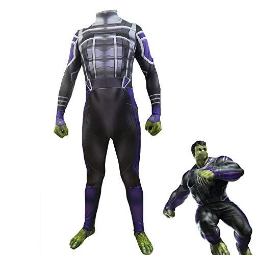 YXIAOL Traje De Cosplay De Superhéroe, Disfraz De Hulk De Avengers, Disfraz De Carnaval De Halloween, Disfraz De Fiesta De Disfraces para Adulto/Niño Estilo 3D