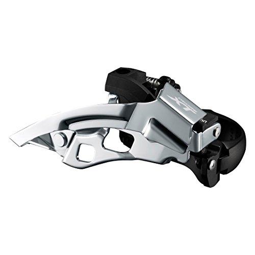 Shimano Deore XT Trekking FD-T8000 Umwerfer Schelle tief 3x10 Down Swing Schwarz Ausführung 66-69° Kettenstrebenwinkel 2017 Mountainbike