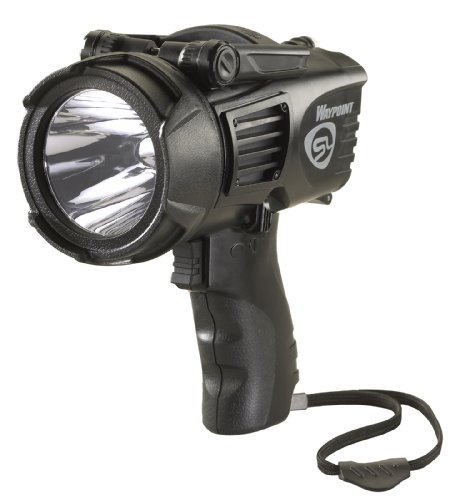 Streamlight 44905 Waypoint High Performance Pistol-Grip Spotlight, Black - 550 Lumens
