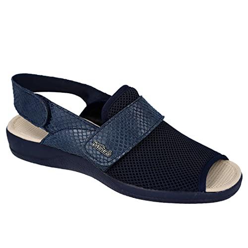 DeValverde 1511 Zapatillas Mujer - Sintético para: Mujer Color: Azul Talla: 38