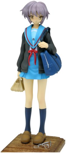 Haruhi Suzumiya Yuki Nagato Treasure Figure Collection 1/10 PVC Statue [Toy] (japan import)