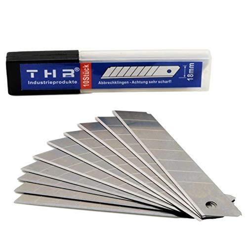 Abbrechklingen 100 Stück 18mm 0,5mm Cutterklingen Ersatzklingen