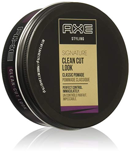 AXE Signature Clean Cut Look Classic Pomade, 2.64 Oz (Pack of 2)