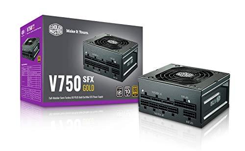 Cooler Master フルモジュラー式 750W SFX PC電源ユニット V750 SFX GOLD 日本製コンデンサ100%使用 10年保証 MPY-7501-SFHAGV-JP PS953