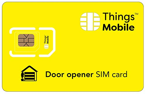 SIM Card per APRICANCELLO Things Mobile con copertura globale e rete multi-operatore GSM 2G 3G 4G LTE, senza costi fissi, senza scadenza e tariffe competitive, con 10 € di credito incluso