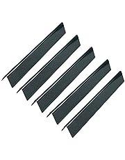 GFTIME 44,45 cm 7621 smaksättare för Weber Genesis 300 310-serien, E-310 E-320 E-330 S-310 S-320 S-330 (med främre kontroller), porslin emaljerad värmeplatta gasgrill reservdel för Weber 7621 7620