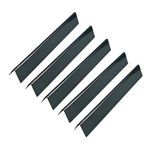 GFTIME 7621 44.45 cm Porzellanemaillierte Flavorizer Bars für Weber Genesis 300 E310 S310 E320 S320 E330 EP310 (Mit Fronttasten), Gasgrill Ersatzteile, Heizplatten, Flammenverteiler Aromastäbe