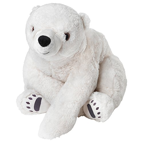 IKEA Kuscheltier Eisbär SNUTTIG XXL 60 cm