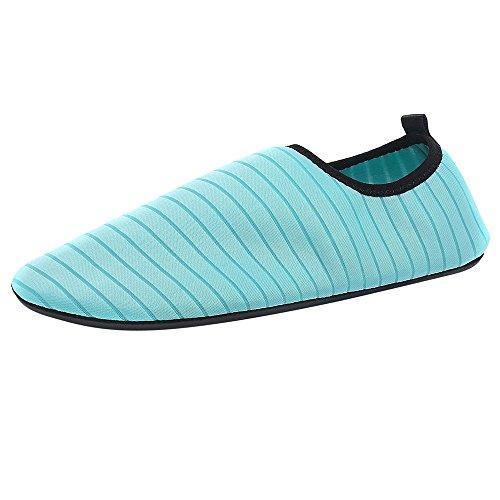Amazing Deal ANJUNIE Womens Mens Waterproof Shoes Barefoot Quick-Dry Aqua Socks Beach Swim Surf Exer...