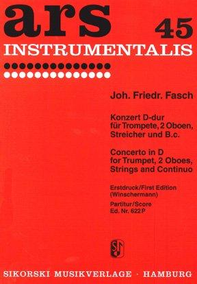 Konzert D-Dur: für Trompete und Orchester