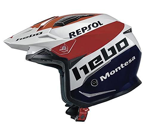 HEBO - Casco Moto Trial Zone 5 MONTESA Team III