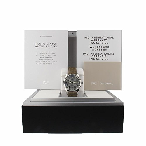 IWC Pilot Silver Dial Automatic Mens Watch IW324007