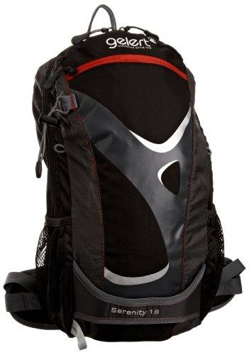 Gelert Rucksack Serenity, black/vivid red, 18 liters, RUC726N49