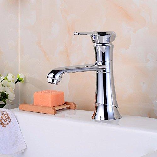 HQLCX Robinets de lavabo La Rotation du Robinet Et Double Contr?Le du Robinet