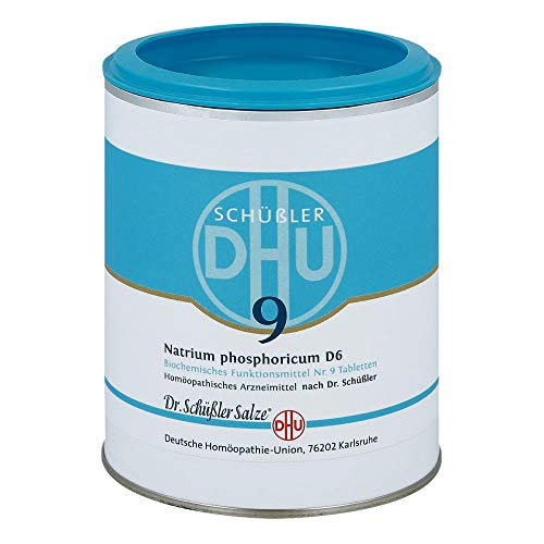 DHU Schüßler-Salz Nr. 9 Natrium phosphoricum D6 Tabletten, 1000 St. Tabletten