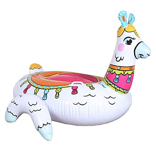 Opblaasbare alpaca zwembad drijft, zomer pool feest speelgoed, volwassen en kinderen watersport opblaasbare ligstoelen