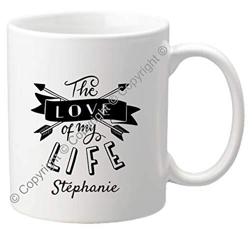 Mug personnalisé - Tasse cadeau pour la Saint Valentin - Homme ou femme - Cadeau romantique pour un couple – Cadeau de Mariage, anniversaire de mariage – Mug.SvH