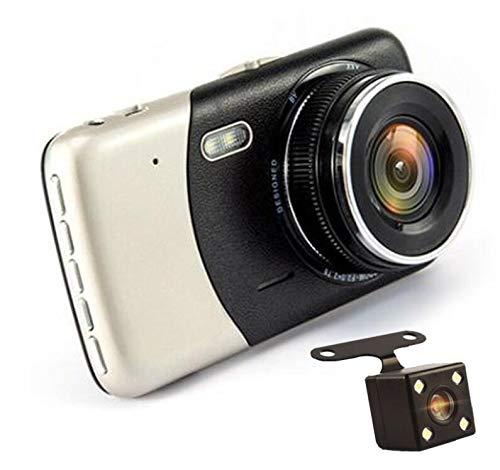 HaoYiShang Caméra embarquée double objectif 1080p HD 1080p avec enregistreur G-Sensor