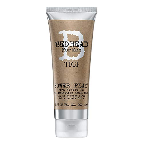 Tigi Bed Head Men Power Play Firm Finish Gel, 1er Pack (1 x 200 ml)