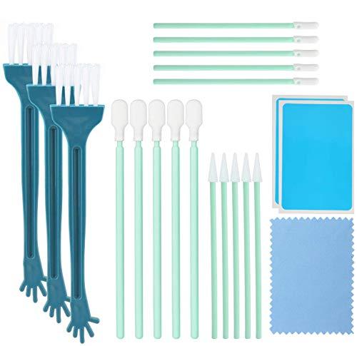 OOTSR 21 piezas kit de limpieza del puerto del teléfono, ba