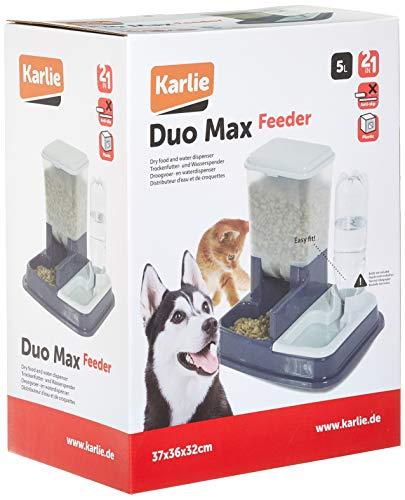 Karlie Flamingo 44046 Futter- und Wasserspender Duo Max 5 Liter - 2